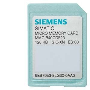 3.3 V NFLASH Siemens 6ES7953-8LF31-0AA0 SIMATIC S7 Micro Memory Card for S7-300//C7//ET 200 64 KB